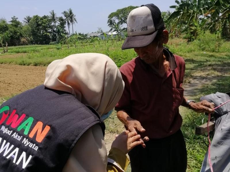 Bantu Ketidakberdayaan di tengah Pandemi WAN Gelar Program SEMBAKO GRATIS DHUAFA