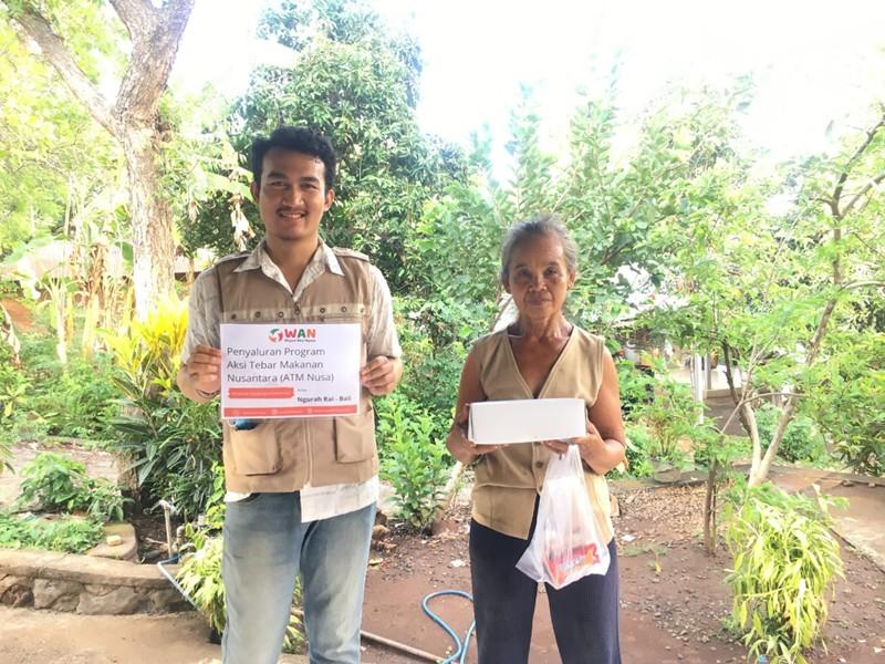 Komunitas WAN Sukses Gelar Program ATM Nusantara Sekaligus Salurkan Amanah Fidyah
