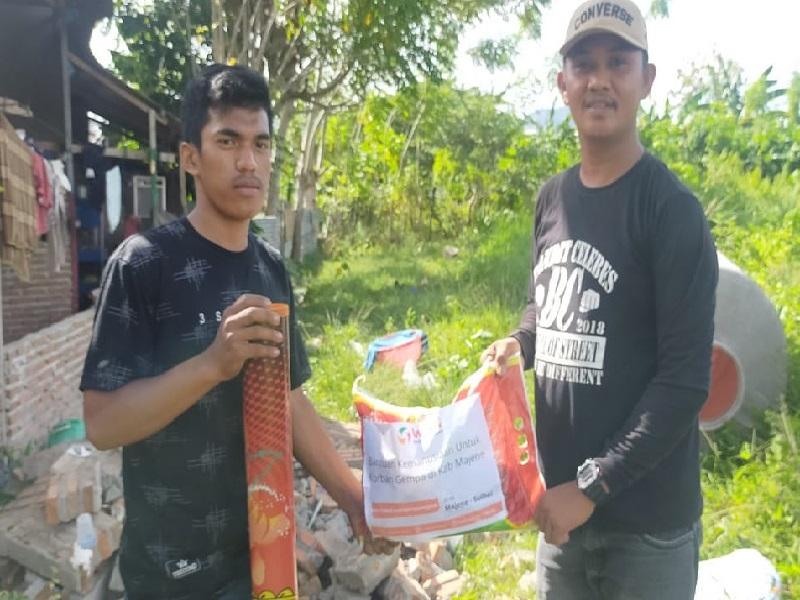 Program Aksi Peduli Bencana Nusantara Gempa Bumi Majene – Sulawesi Barat Masuki Distribusi Tahap 1