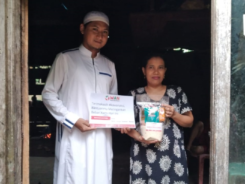 WAN Kembali Gelar Program Donasi Bertajuk Sedekah Makan Sehari