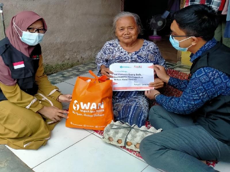 Program Aksi Peduli Dhuafa Nusantara Sukses Jamah Masyarakat di 5 Daerah Berbeda