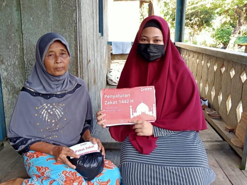 Yayasan WAN Sukses Salurkan Dana Zakat Ramadhan 1442 H di 10 Daerah Berbeda